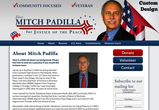 Mitch Padilla for Justice of the Peace