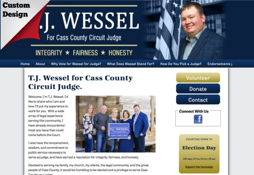 T.J. Wessel for Cass County Circuit Judge