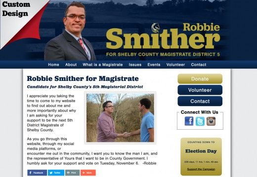 Robbie Smither for Magistrate