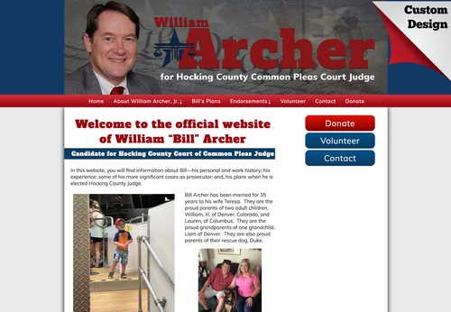 William Archer for Hocking County Judge