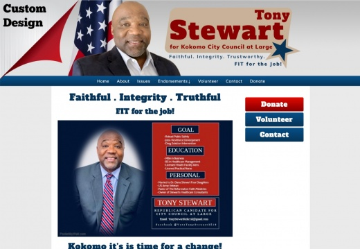 Tony Stewart for City Council