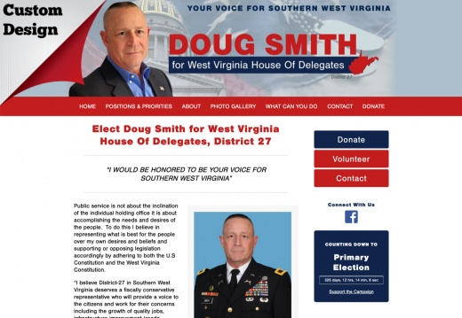 Doug Smith for West Virginia House Of Delegates, District 27