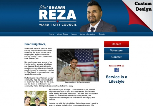 Shawn Reza for City Council