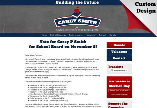 Carey P Smith for School Board