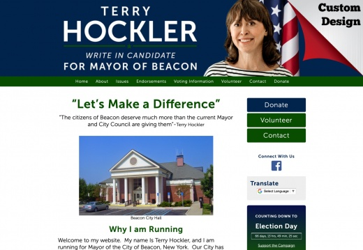 Terry Hockler for Mayor of Beacon