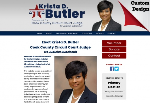 Krista D. Butler Cook County Circuit Court Judge