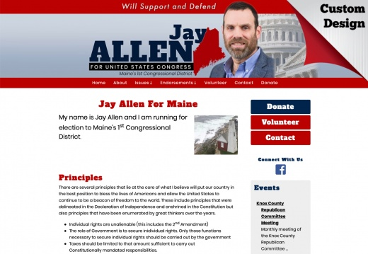 Jay Allen For Congress - Maine's 1st Congressional District