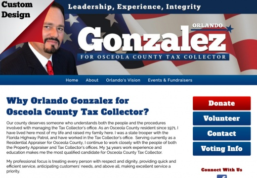 Orlando Gonzalez for Osceola County Tax