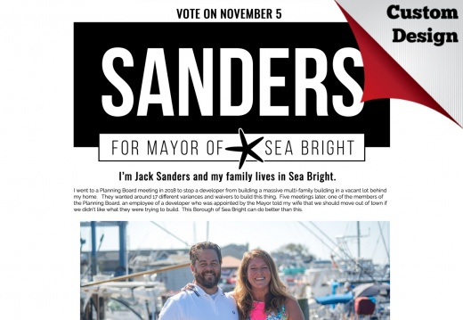 Sanders for Sea Bright Mayor