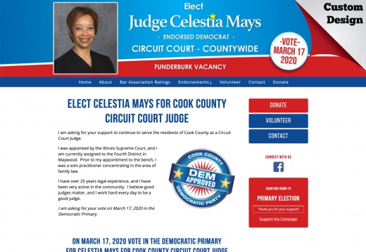 Elect Celestia Mays for Cook County Circuit Court Judge