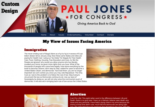 Paul Jones for Congress - California District 38