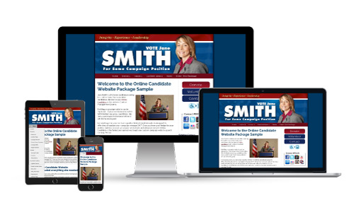 Conservative Political Campaign Website Design