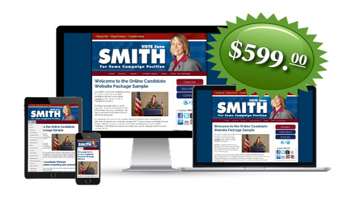 Enhanced Campaign Website Package