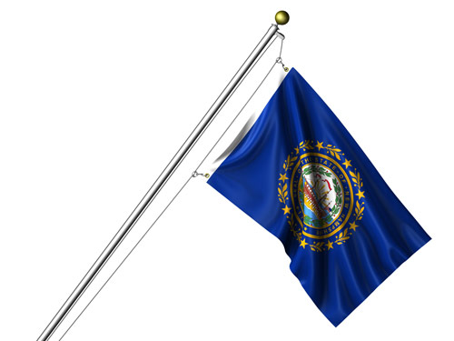 New Hampshirestate flag