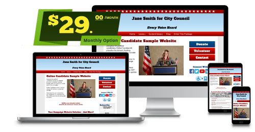 Monthly Campaign Website Package
