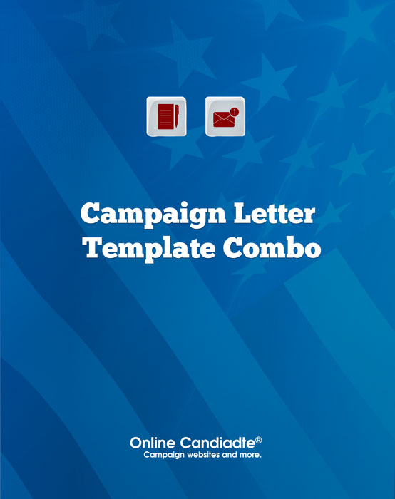 Campaign Letter Template Combo