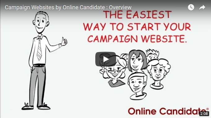 Starting a political campaign website video